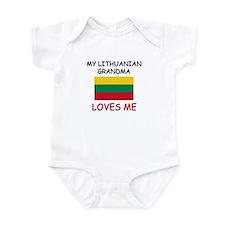 My Lithuanian Grandma Loves Me Infant Bodysuit