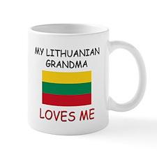 My Lithuanian Grandma Loves Me Mug
