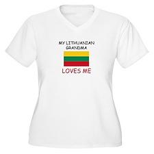 My Lithuanian Grandma Loves Me T-Shirt