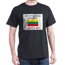 My Lithuanian Grandma Loves Me T-Shirt