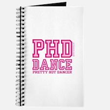 PHD Dance Pink Journal