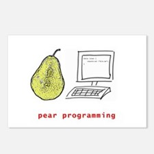 Pear Programming Postcards (Package of 8)