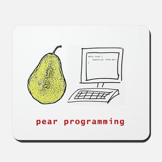 Pear Programming Mousepad