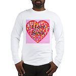 I Love Santa Long Sleeve T-Shirt