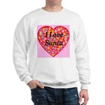 I Love Santa Sweatshirt