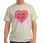 I Love Santa Ash Grey T-Shirt