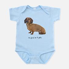 Good Dachshund Infant Bodysuit