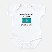 My Kazakhstani Grandma Loves Me Infant Bodysuit