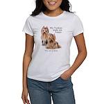 My Yorkies Women's T-Shirt