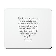 EXODUS  11:2 Mousepad