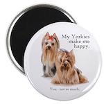 My Yorkies Magnet