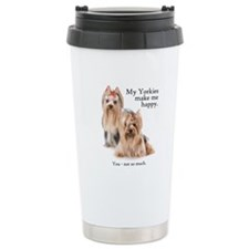 My Yorkies Ceramic Travel Mug