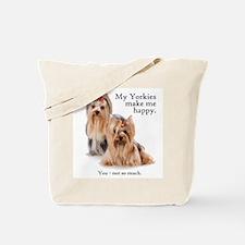 My Yorkies Tote Bag
