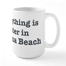 Better in Daytona Beach Ceramic Mugs