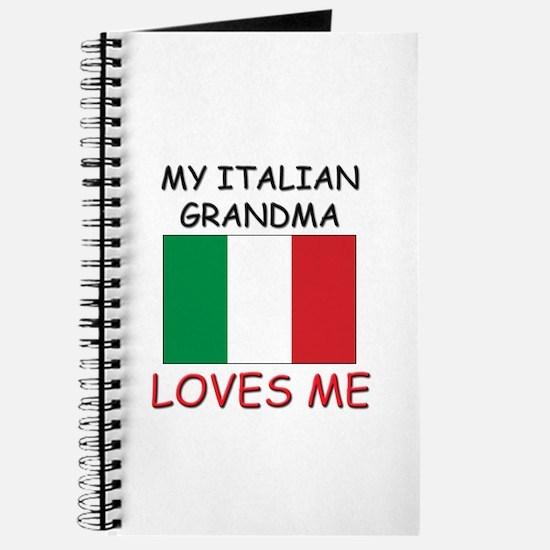 My Italian Grandma Loves Me Journal
