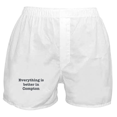 Better in Compton Boxer Shorts