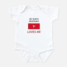 My Manx Grandma Loves Me Infant Bodysuit