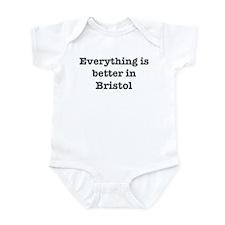 Better in Bristol Infant Bodysuit