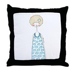Oooh, cloudy Throw Pillow
