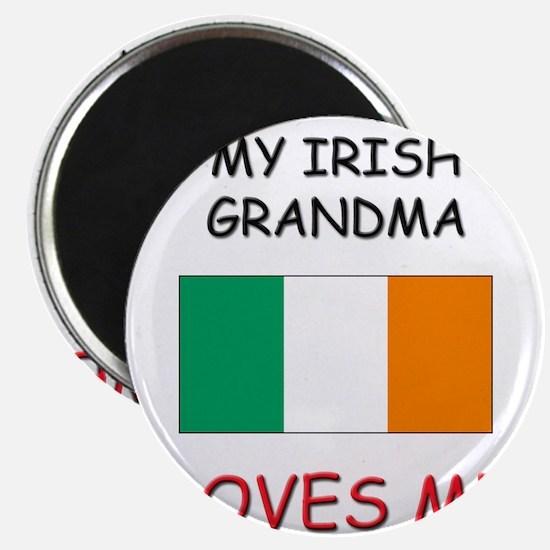 "My Irish Grandma Loves Me 2.25"" Magnet (10 pack)"