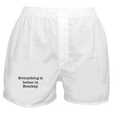Better in Bombay Boxer Shorts