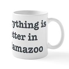 Better in Kalamazoo Mug