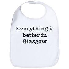 Better in Glasgow Bib