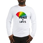 Rainbow Peace Love Long Sleeve T-Shirt