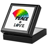 Rainbow Peace Love Keepsake Box