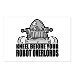 Robot Overlords Postcards (Package of 8)