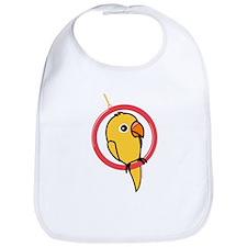 Yellow Parakeet Bib