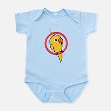 Yellow Parakeet Infant Bodysuit