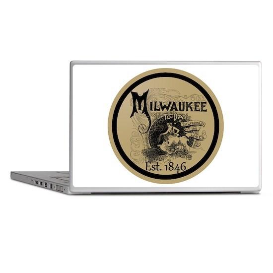 milwaukee slogan - cream city Laptop Skins
