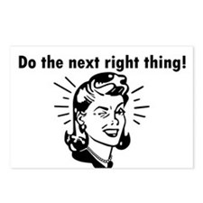 Do the Next Right Thing Postcards (Package of 8)