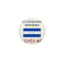 My Honduran Grandma Loves Me Mini Button (10 pack)
