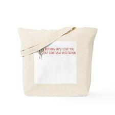 Valentine Flowers Tote Bag