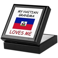 My Haitian Grandma Loves Me Keepsake Box