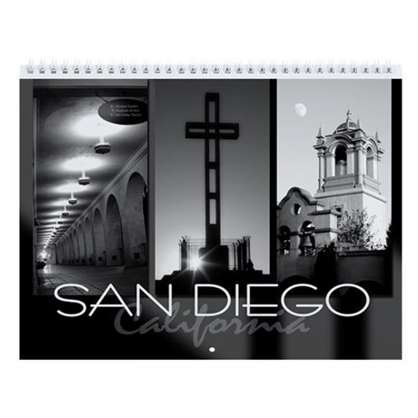 San Diego Photography Wall Calendar