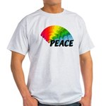 Rainbow Peace Light T-Shirt