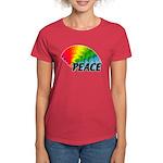 Rainbow Peace Women's Dark T-Shirt