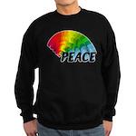 Rainbow Peace Sweatshirt (dark)