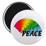 Rainbow Peace Magnet