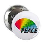"Rainbow Peace 2.25"" Button (10 pack)"