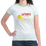 Sputnik: First! Jr. Ringer T-Shirt