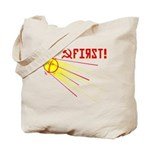 Sputnik: First! Tote Bag