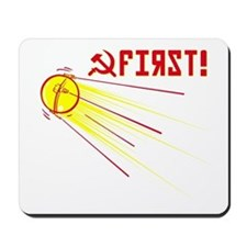 Sputnik: First! Mousepad