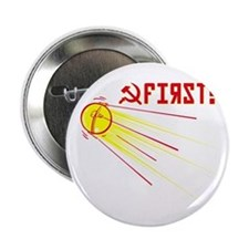 "Sputnik: First! 2.25"" Button"