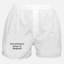 Better in England Boxer Shorts