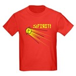 Sputnik: First! Kids Dark T-Shirt