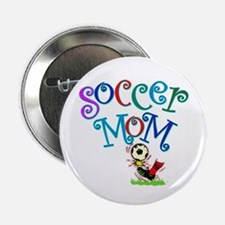 "Soccer Mom (colorful) 2.25"" Button (10 pack)"